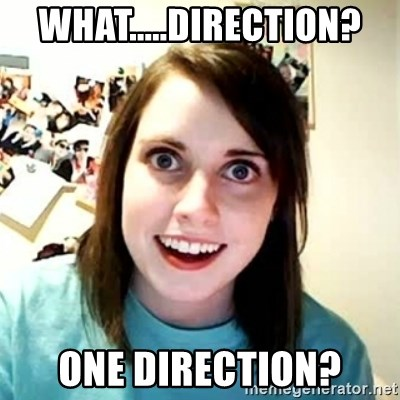 Overly Attached Girlfriend 2 - what.....direction? one direction?