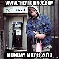 ZOE GREAVES TIMMINS ONTARIO - www.theprovince.com monday may 6 2013
