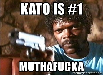 Pulp Fiction - Kato is #1 MUthafucka