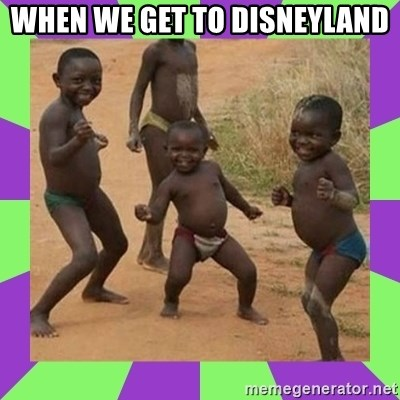 african kids dancing - WHEN WE GET TO DISNEYLAND
