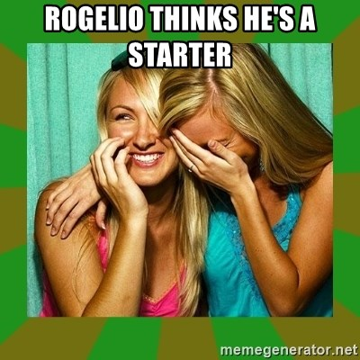 Laughing Girls  - ROGELIO THINKS HE'S A STARTER