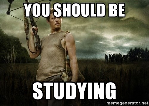Daryl Dixon - You ShoUld be studying