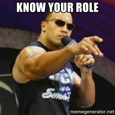 Dwayne 'The Rock' Johnson - know your role