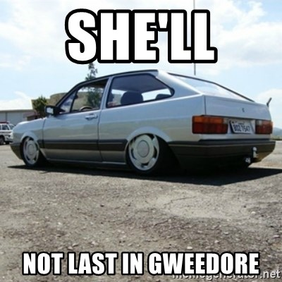 treiquilimei - SHE'LL  NOT LAST IN GWEEDORE