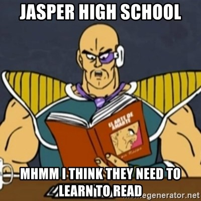 El Arte de Amarte por Nappa - JASPER HIGH SCHOOL MHMM I THINK THEY NEED TO LEARN TO READ