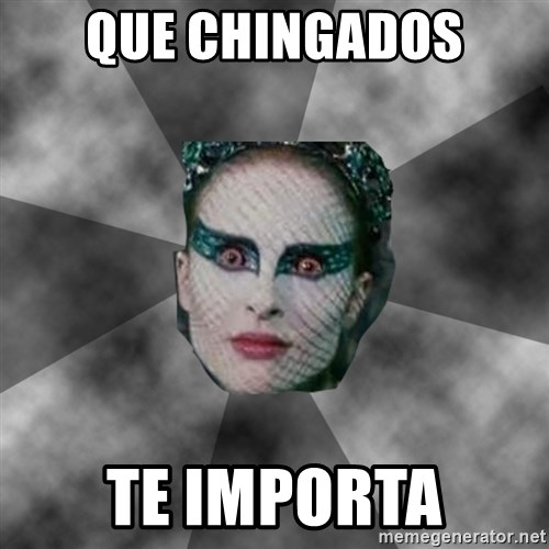 Black Swan Eyes - QUE CHINGADOS TE IMPORTA