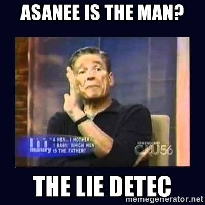 Maury Povich Father - Asanee is the man? The lie detec