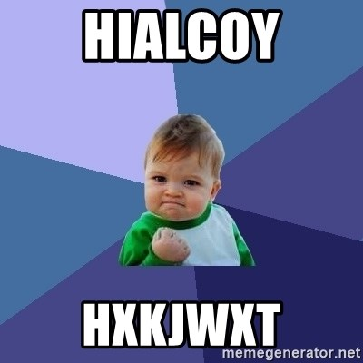 Success Kid - hialcoy hxkjwxt