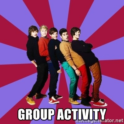 typical 1D -  GROUP ACTIVITY