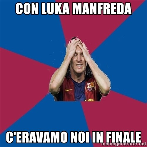 Lionel Messi Problems - CON LUKA MANFREDA  C'ERAVAMO NOI IN FINALE