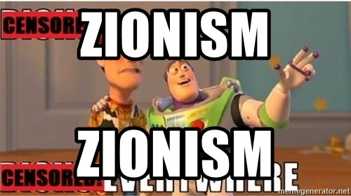 Toy Story Everywhere - zionism zionism