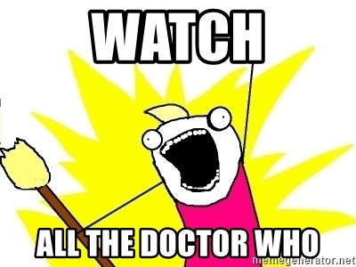 X ALL THE THINGS - Watch All the doctor who