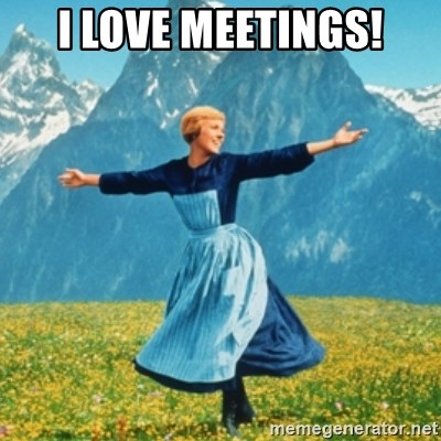 Sound Of Music Lady - I love meetings!