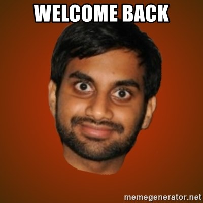 Generic Indian Guy - welcome back