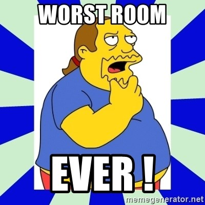 Comic book guy simpsons - WORST ROOM EVER !