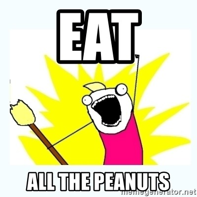 All the things - Eat  all the peanuts