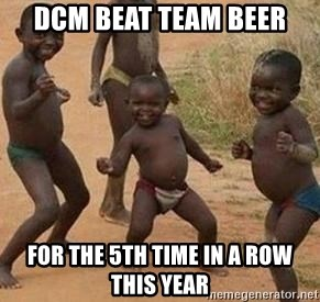 african children dancing - DCM BEAT TEAM BEER FOR THE 5TH TIME IN A ROW THIS YEAR