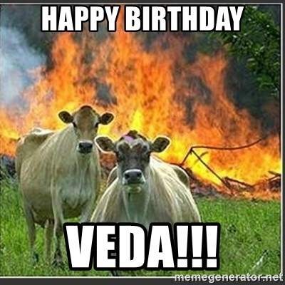 Evil Cows - HAppY BIRTHDAY  VEDA!!!