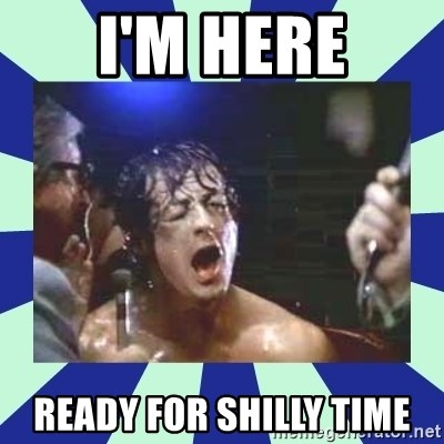 Rocky Balboa - I'm Here Ready for shilly time