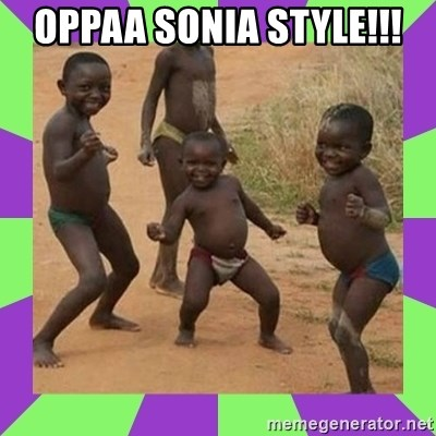 african kids dancing - OPPAA SONIA STYLE!!!