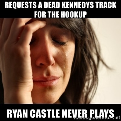 crying girl sad - Requests a dead kennedys track for the hookup Ryan castle never plays