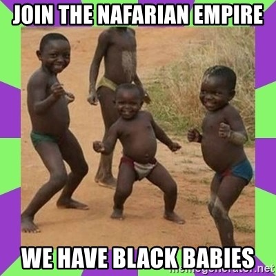 african kids dancing - join the nafarian empire we have black babies