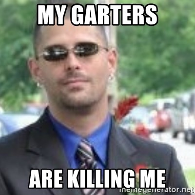 ButtHurt Sean - My garters are killing me