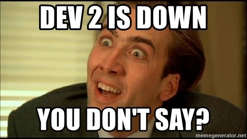 You Don't Say Nicholas Cage - DEV 2 IS DOWN You Don't Say?