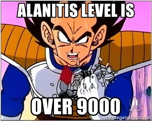 Over 9000 - Alanitis LEVEL IS Over 9000