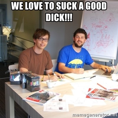Naive Junior Creatives - WE LOVE TO SUCK A GOOD DICK!!!