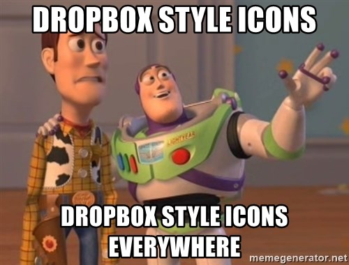 Tseverywhere - dropbox style icons DROPBOX STYLE ICONS everywhere