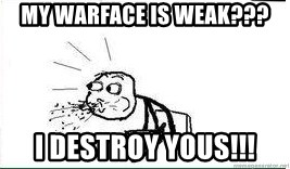 Cereal Guy Spit - My warface is weak??? I destroy yous!!!