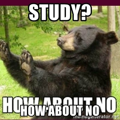 How about no bear - study? how about no