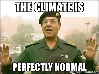 Iraqi Information Minister - The climate is perfectly normal