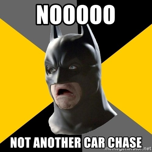 Bad Factman - NOOOOO NOT ANOTHER CAR CHASE