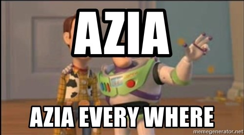 X, X Everywhere  - AZIA AZIA EVERY WHERE