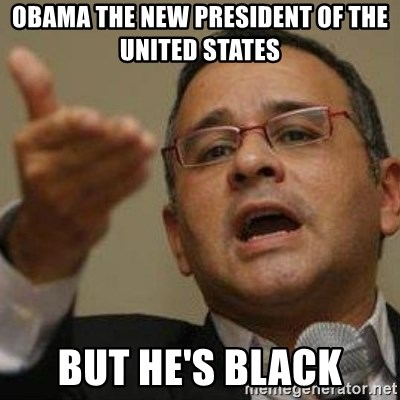 Funes 20 años - OBAMA THE NEW PRESIDENT OF THE UNITED STATES BUT HE'S BLACK