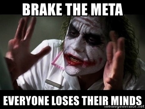 joker mind loss - brake the meta everyone loses their minds