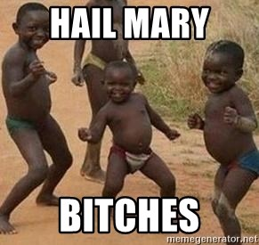 african children dancing - HAIL MARY  BITCHES