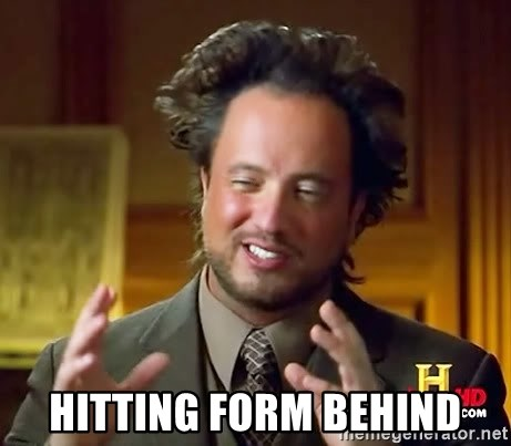 Ancient Aliens -  Hitting form behind