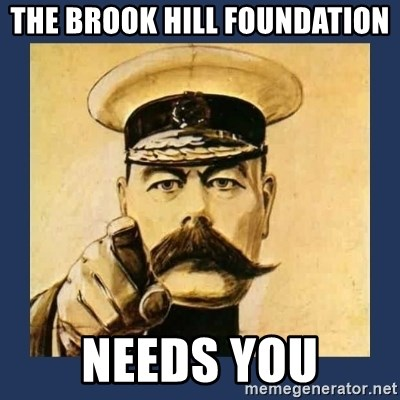 your country needs you - The brook hill foundation Needs you