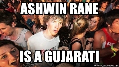 Sudden Realization Ralph - Ashwin rane  is a GUJARATI