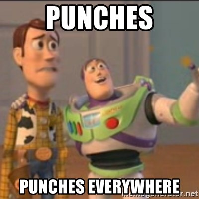 Buzz - Punches Punches everywhere