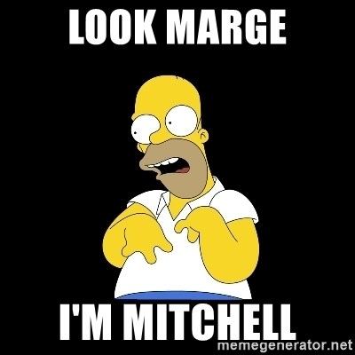 look-marge - look marge I'm mitchell