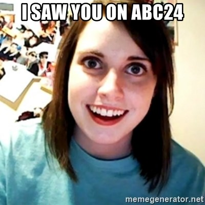 Overly Obsessed Girlfriend - I SAW YOU ON ABC24