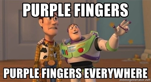 Toy Story Everywhere - PURPLE FINGERS PURPLE FINGERS EVERYWHERE