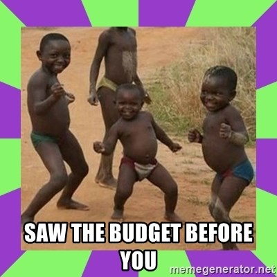 african kids dancing -  SAW THE BUDGET BEFORE YOU