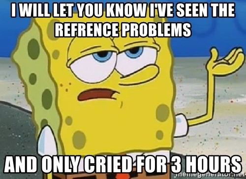 Only Cried for 20 minutes Spongebob - i will let you know i've seen the refrence problems and only cried for 3 hours