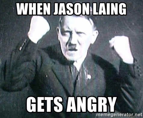 Successful Hitler - WHEN JASON LAING  GETS ANGRY