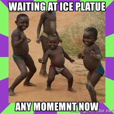 african kids dancing - waiting at ice platue any momemnt now